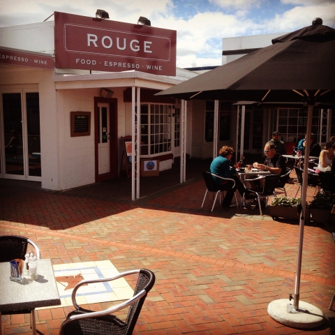 Spring is here, the sun's out at Rouge!