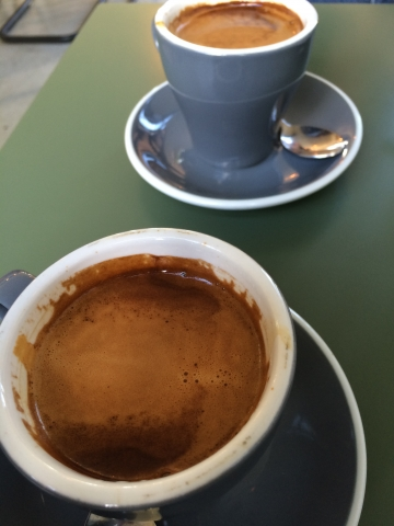 Coffee at Bespoke Kitchen in Queenstown