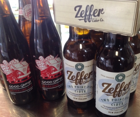 Good George Beer, Zeffer Cider, at Rouge, Cambridge